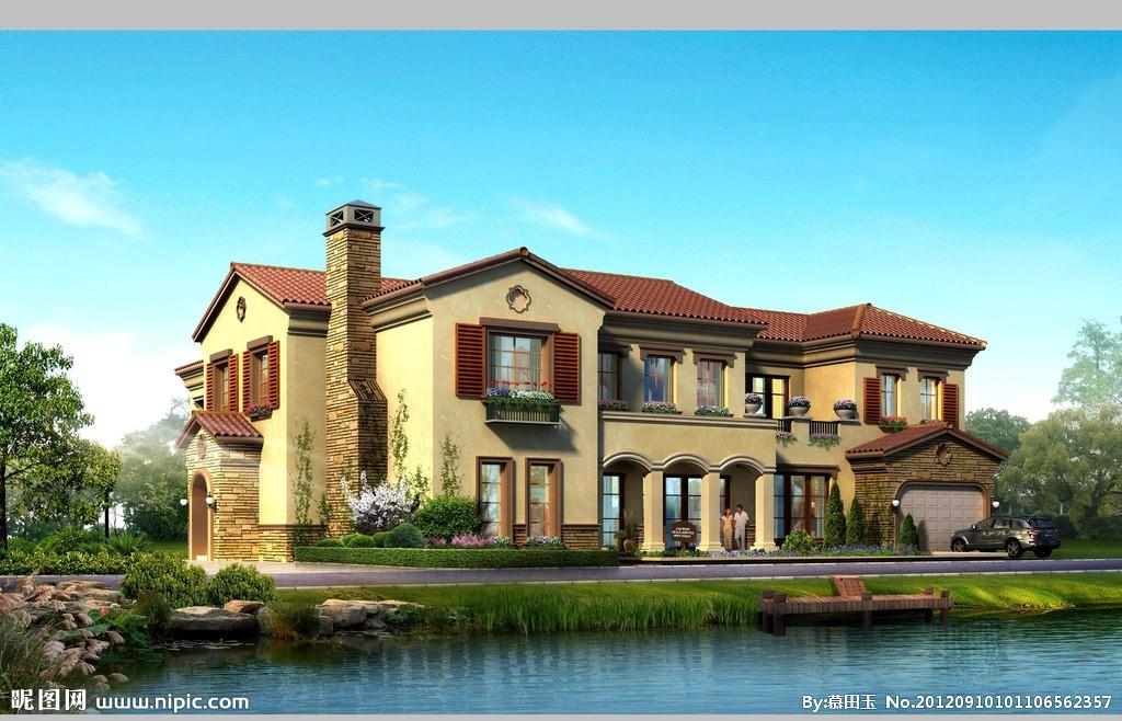 很多开发商在独栋别墅设计上