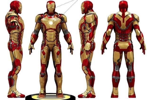 钢铁侠标志设计图展示