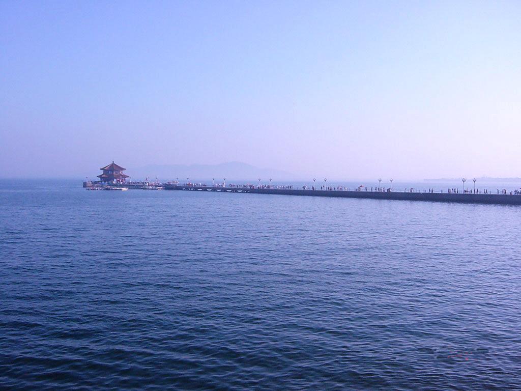 长江波澜壮阔风景