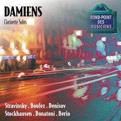 stravinsky-boulez-denisov-stockhausen-donatoni-berio-recital de clarinette