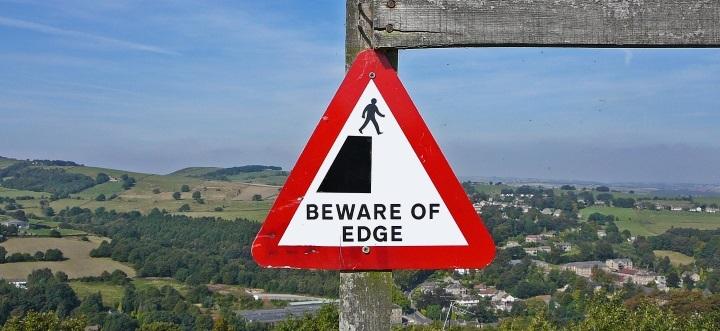 beware of cliff