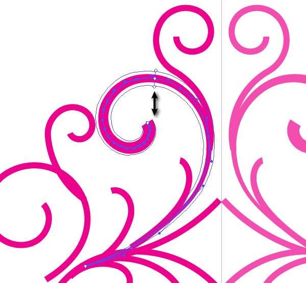 ai教你绘制典雅的欧式复古花纹