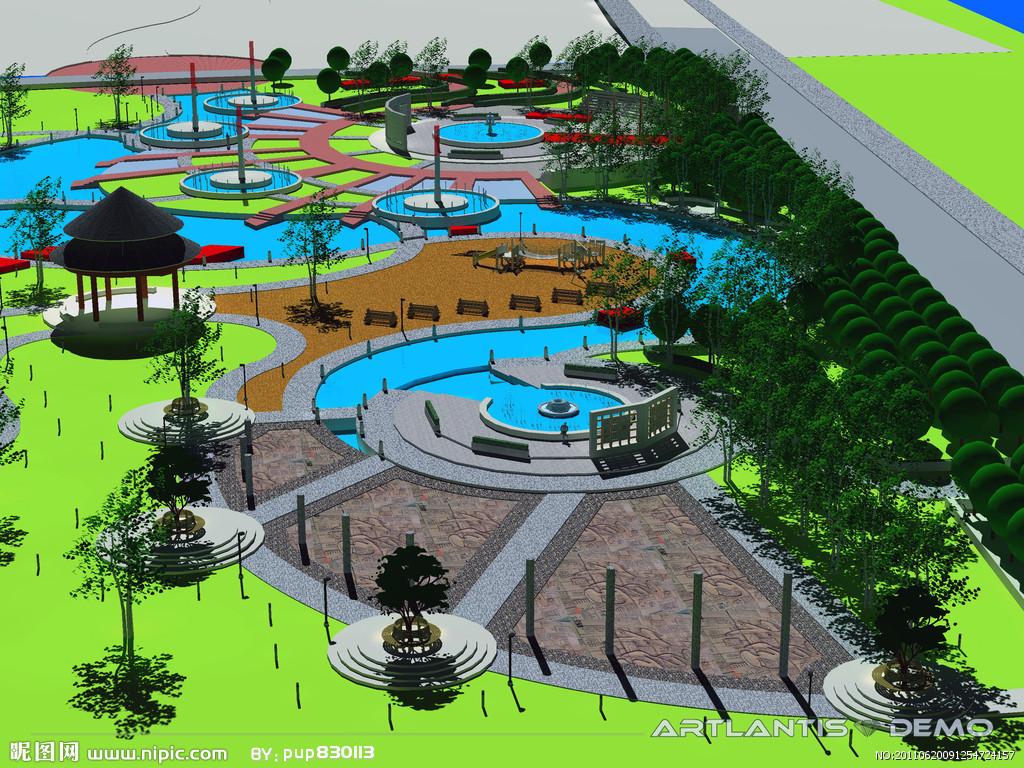 景观建筑学)是指在建筑设计或规划设计的过程中,对周围环境要素的整体