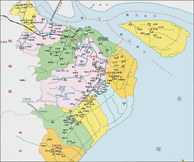 [地图]温州大道与钱江路交叉口 地址:温州市龙湾区 浙江温州龙湾区