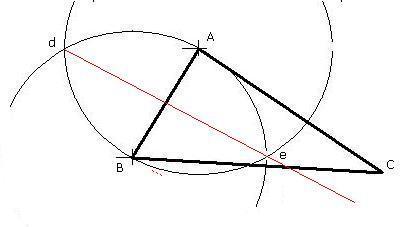 用尺规作三角形三条边的垂直平分线,怎么画,最好有图