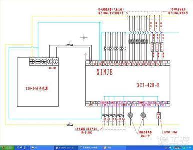 信捷plc硬件接线图
