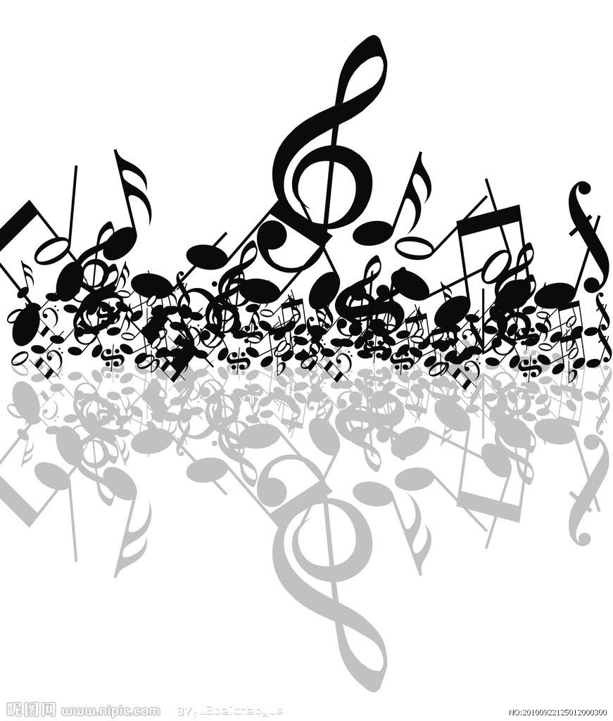歌曲音符简笔画