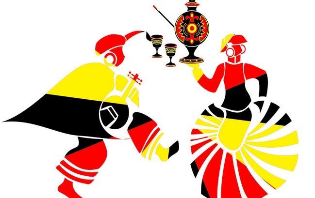 彝族美女图画手绘