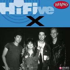rhino hi-five: x