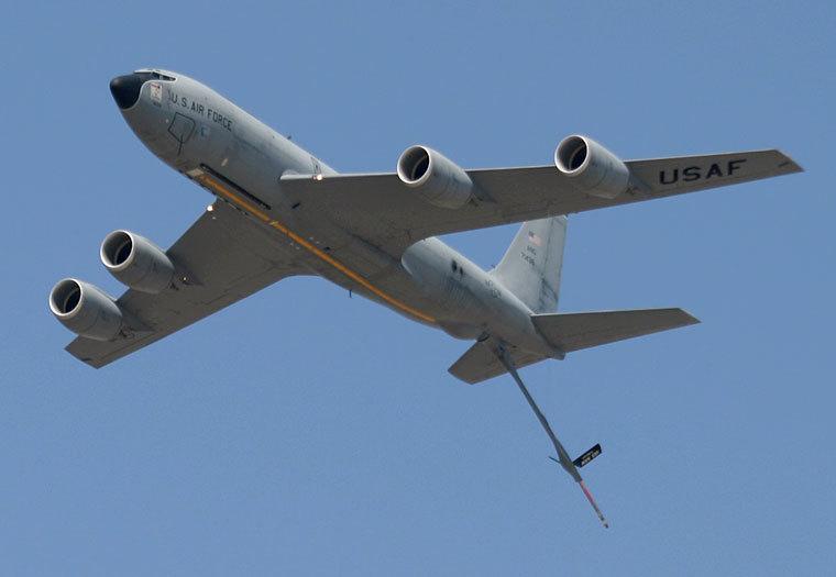 美国c-135大型飞机