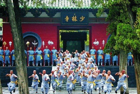 [地图]少林寺 地址:郑州市登封市嵩山少林风景区内