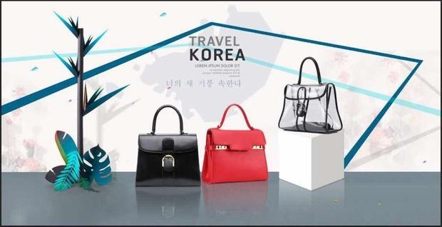 marmanz轻奢潮牌这图片要怎么设计才能凸显独特韩式风格?