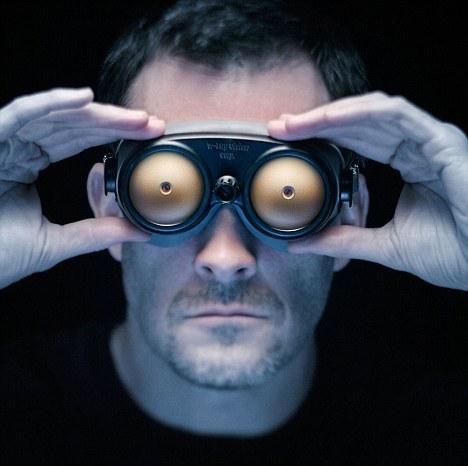 透视眼镜效果图