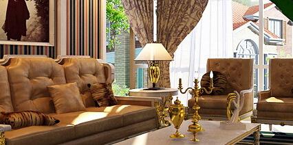 100平米2室2厅整套楼房整体装修效果图大全2014图片精选